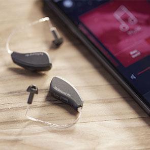 Smarte Hörgeräte