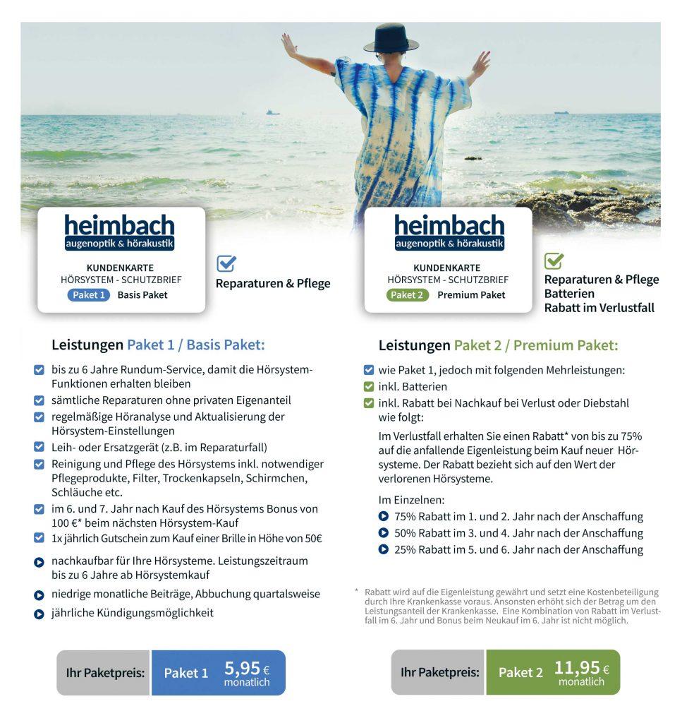 Hörakustik Heimbach Schutzbrief